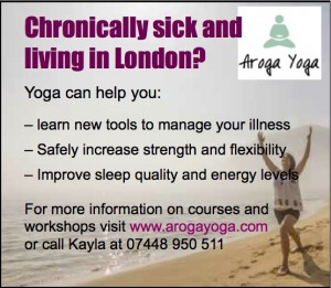 Aroga Yoga ad copy