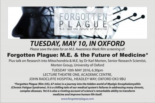 Forgotten Plague, Oxford copy