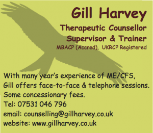 Gill Harvey ad copy