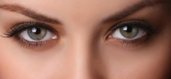 eyes of a girl