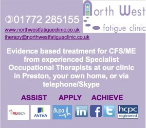 North West Fatigue Clinic ad