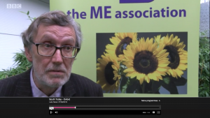 Dr Charles Shepherd, medical adviser to The ME Association