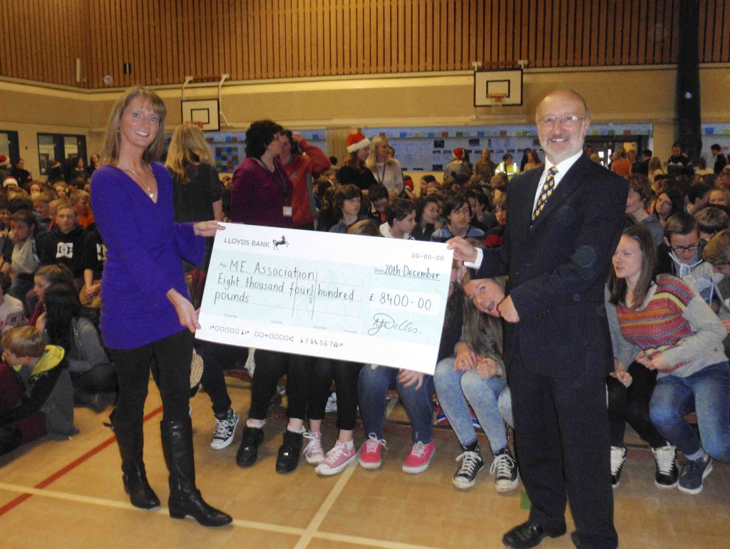 Thank You Wallingford School For Your Magnificent Cheque