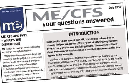 ME/CFS – Your questions answered   ME Association