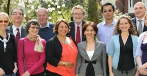 The team behind the development of the UK ME/CFS Biobank